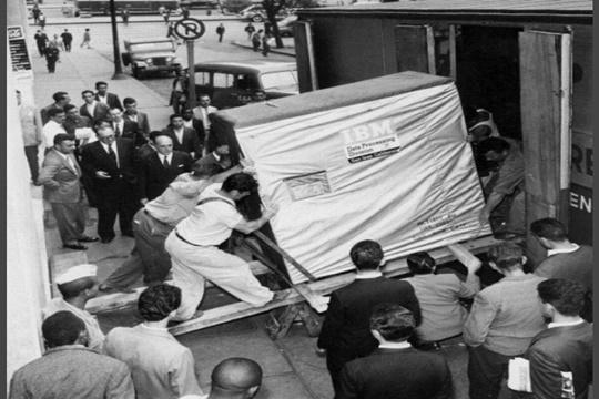 พื้นที่เก็บข้อมูล 5 MB ปี 1956