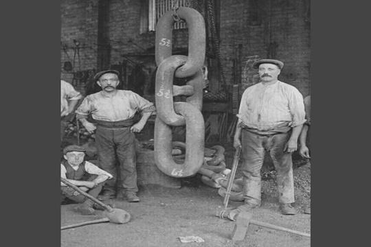 ชิ้นส่วนหนึ่งของเรือไททานิค ปี 1910