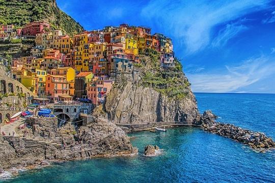 หมู่บ้านชิงเคว แตเร (Cinque Terre) and – อิตาลี