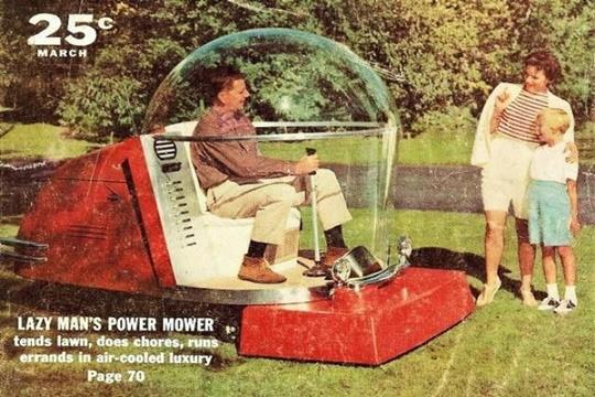 การตัดหญ้าอย่างสบายใจ ทศวรรษ 1950
