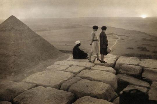 ทิวทัศน์กรุงไคโร ทศวรรษ 1920