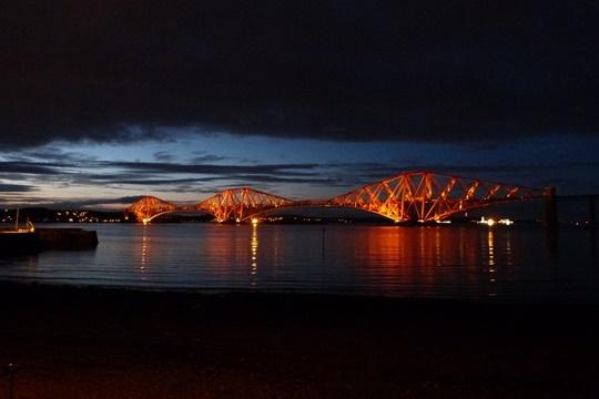 สะพานฟอร์ท (The Forth Bridge) - สกอตแลนด์